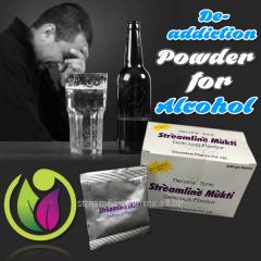 De-Addiction Powder for Alcohol