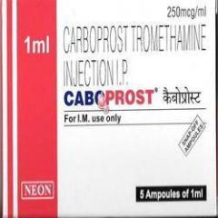 Generic Carboprost Tromethamine Injection