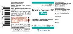 Ribavirin Capsules 20mg / Hepatitis Medicine