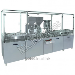 Double Head Injectable Powder Filling Machine