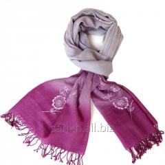 Flower Design Woolen Stole SC-G66