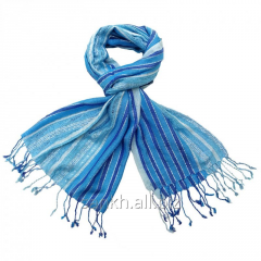 Fashion female viscose lace lurex long scarf-SC-G1
