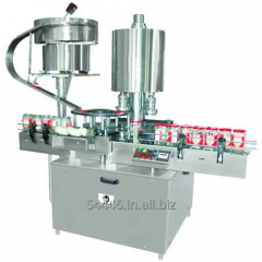 Pick And Place Screw Capping Machine