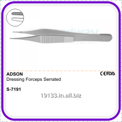 Adson Dressing Forceps Serrated