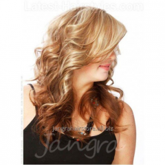 BIG WAVE FRONT LACE WIG