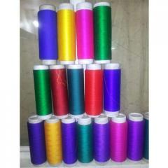 Mfg nsy fdy tex all type of dyed yarn