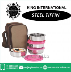 Insulated Air Tight Tiffin with plastic Air tight