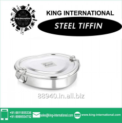 Stainless steel square small double decker lunch