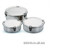 SINGLE STORGAE TIFFIN WITH CLIP LOCK -FLANNER/FLAN