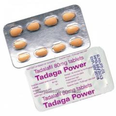 Tadaga Power (Tadalafil 80mg)