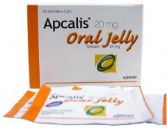 Apcalis Jelly (Tadalafil 20mg)