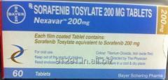 Nexavar Tablets Oncology Medicines