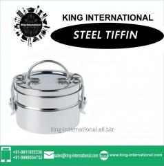 Single Tiffin with plate inside