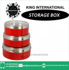 SINGLE STORAGE PLAIN TIFFIN/BOX