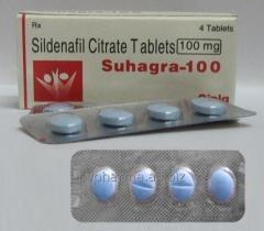 Suhagra 100mg - Sildenafil