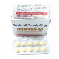 ZHEWITRA 40 mg GENERIC LEVITRA