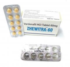 ZHEWITRA 60 mg GENERIC LEVITRA