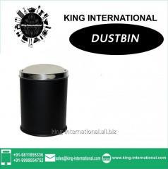 Black Swing Dustbin Set of 1 pc