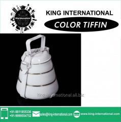 Coloured Tiffin