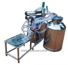 Hand Operated Single Bucket Milking Machine with