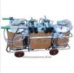 Double Bucket Hand cum Electric cum Battery Operated Milking Machine