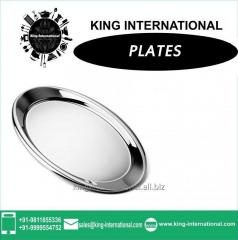 Round plate set of 1 pc