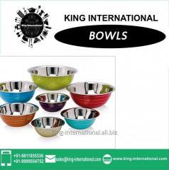 Multicolour Coloured Bowls Set of 7 pcs