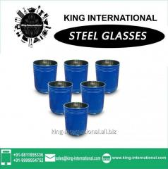 Blue Glass Set of 6 pcs