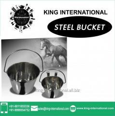 Steel Bucket Set of 2 pcs