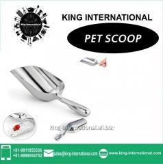 Silver Pet Scoop