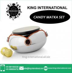 Steel Candy Matka Set