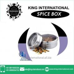 Spice Rack With Lid Set of 2 pcs