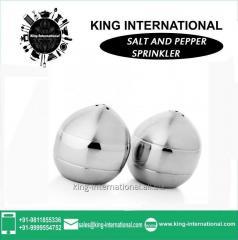 Round Salt & Pepper Sprinkler Set of Two