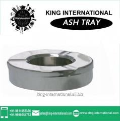 Steel Ash Tray With Lid