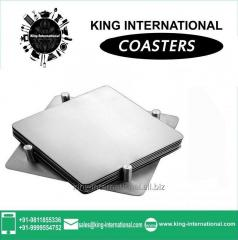 Square Coaster With Stand