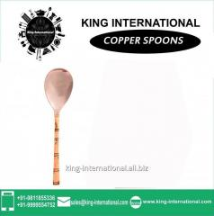 Copper Spoon Set of 1 pc
