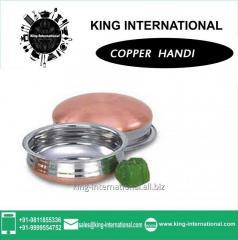 Copper Handi Set of 2 pcs