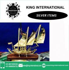 Brass Ship Set