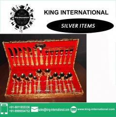 Brass Golden Cutlery Set