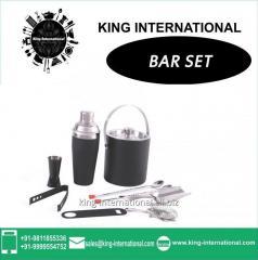Black Bar Set Of 9 Pcs