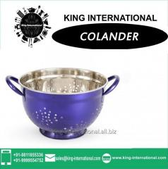 Purple Colour Colander