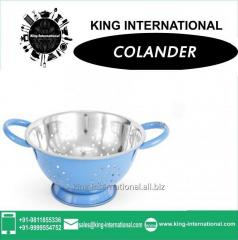 Sky Blue Colander