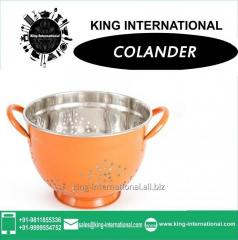 Orange Colander