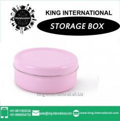 Pink Storage Box