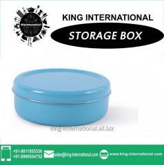 Sky Blue Storage Box