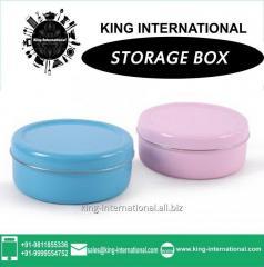 Blue & Pink Storage Box