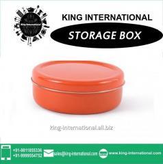 Orange Storage Box