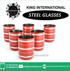 Red Glasses/Tumbler Set of 6 pcs