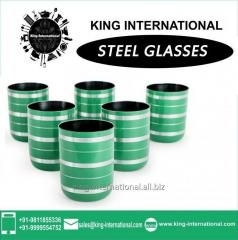 Green Glasses/Tumbler Set of 6 pcs