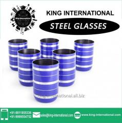 Blue Glasses/Tumbler Set of 6 pcs